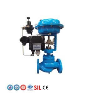 pneuamtic globe control valves 4 20 ma positioner competitive price