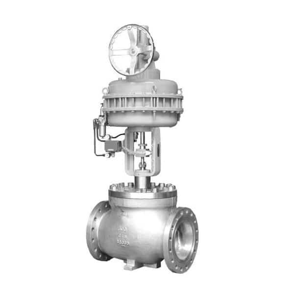 Cage Guided Single Seated Control Valve