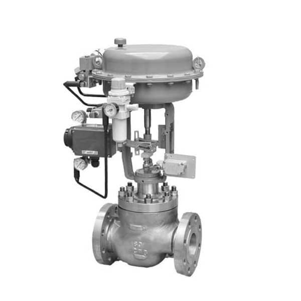 Pneumtiac Cage Guided Single Seated Control Valve