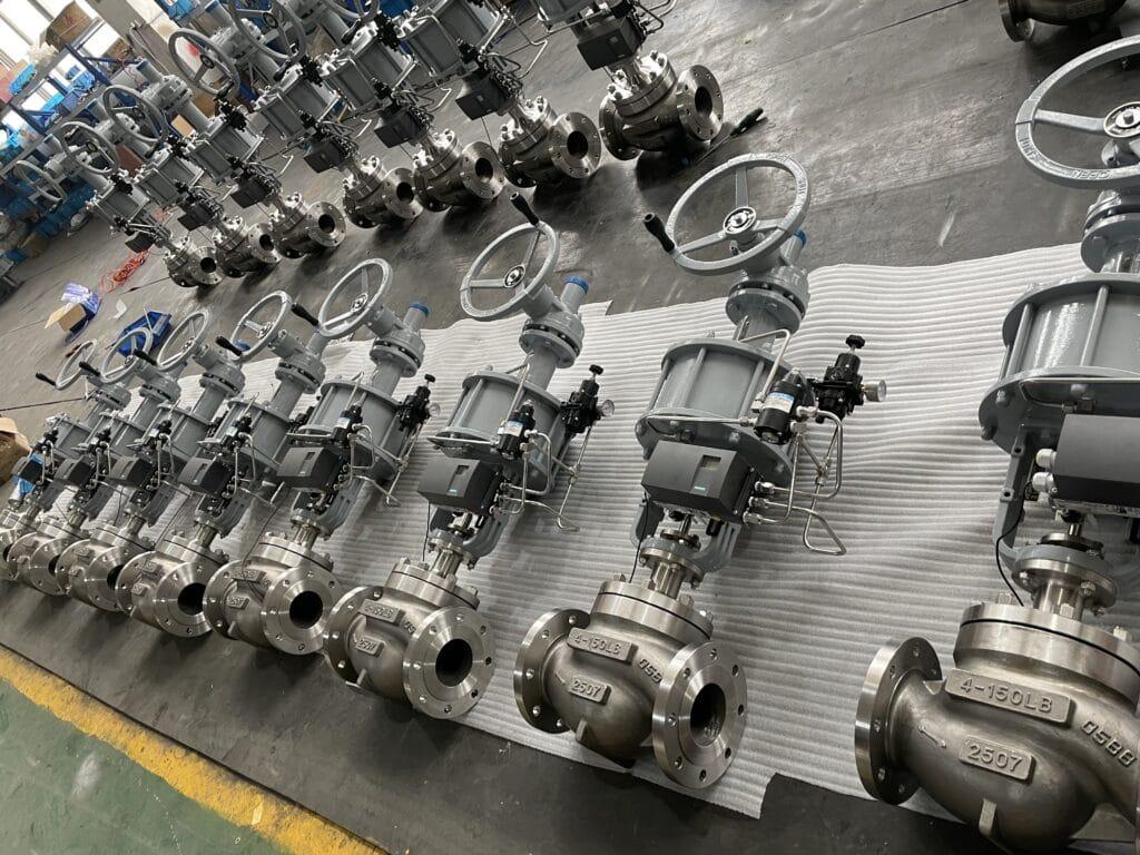 globe type control valve ss2507 material 2